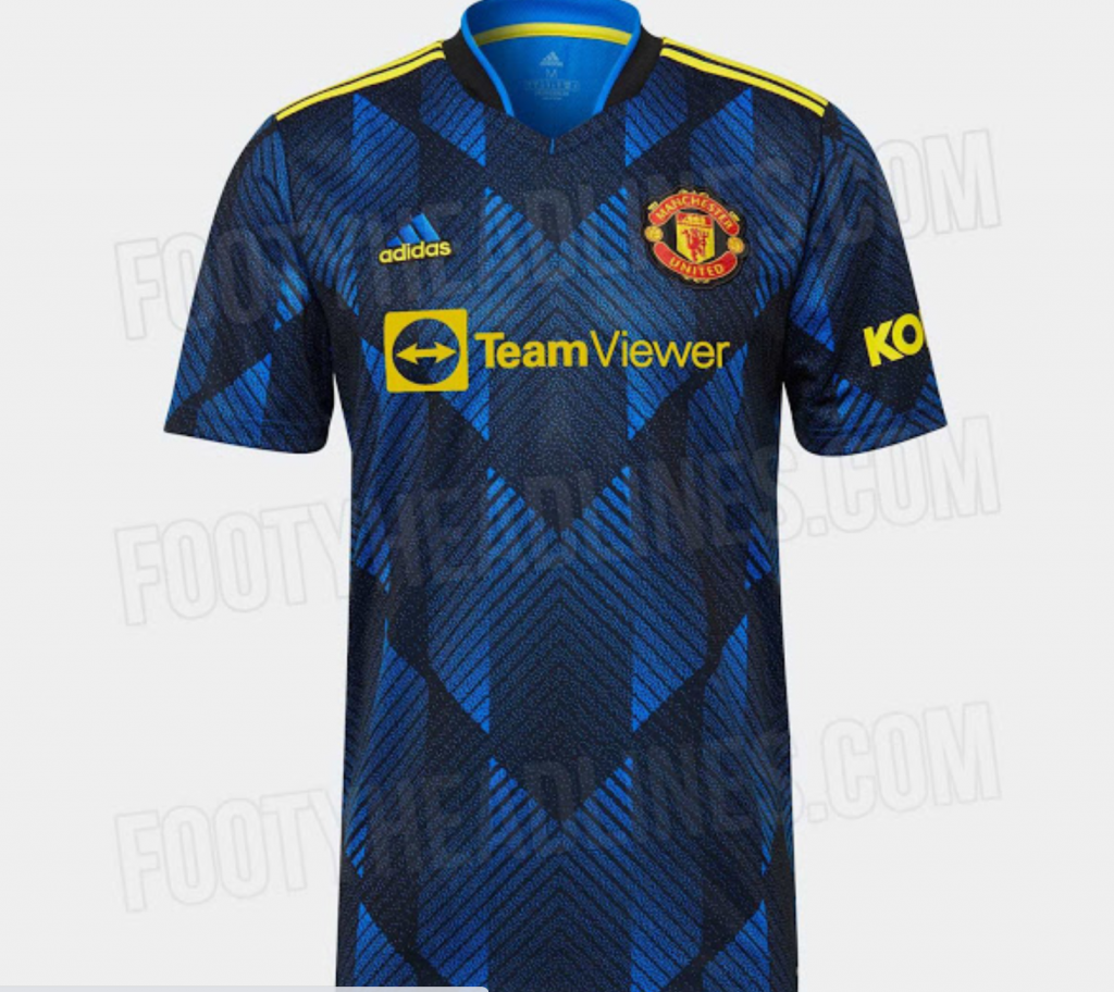 Leaked: Official photos of Man United's 90s-inspired 2021/22 third jersey