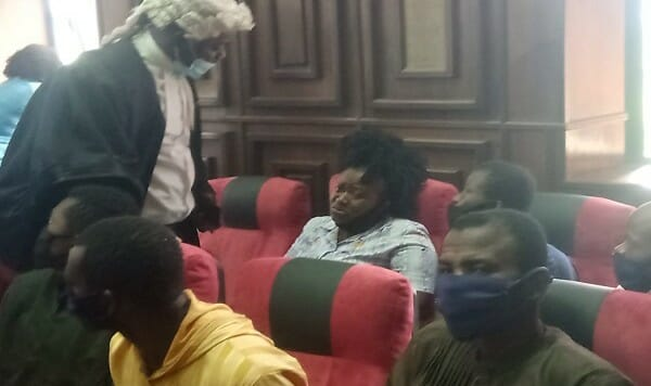 DSS brings detained Sunday Igboho's associates to court