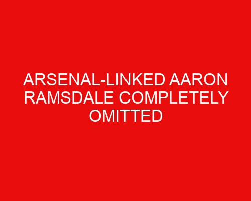 Arsenal-linked Aaron Ramsdale completely omitted from Sheffield United's League Cup clash