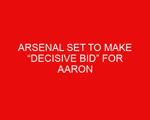 """Arsenal set to make """"decisive bid"""" for Aaron Ramsdale as transfer frenzy begins"""