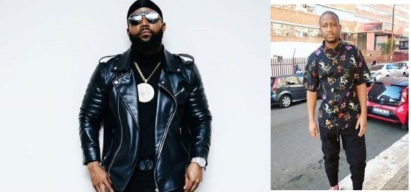 See Cassper Nyovest's reaction to viral photo of his alleged twin (Video)