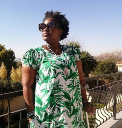 Thandeka's journey to healing: See video of the actress struggling to bend knee