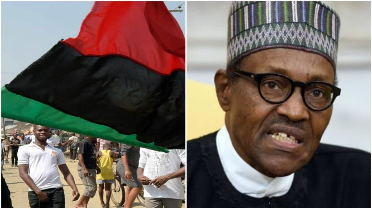 Biafra: IPOB not defending Christians, out to promote terrorism, loot – Buhari