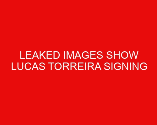 Leaked images show Lucas Torreira signing Fiorentina contract ahead of Arsenal departure