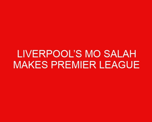Liverpool's Mo Salah makes Premier League history with goal in win over Norwich
