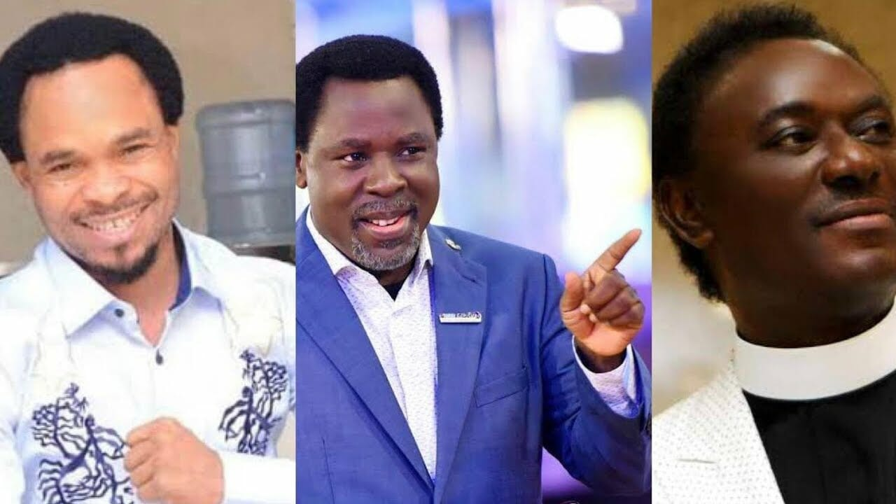 'You are possessed' – Prophet Odumeje blasts Chris Okotie for attacking Late TB Joshua