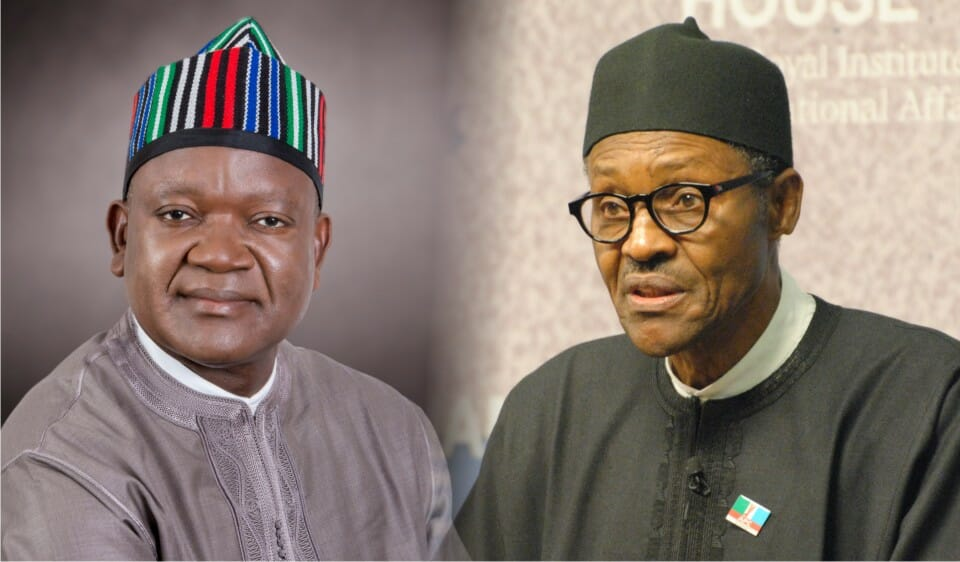 No need to sign amended electoral act without e-transmission of results, Ortom tells Buhari