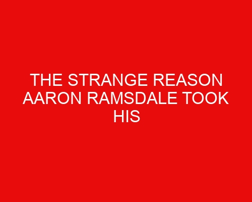 The strange reason Aaron Ramsdale took his Grandad's ashes to his Arsenal contract signing
