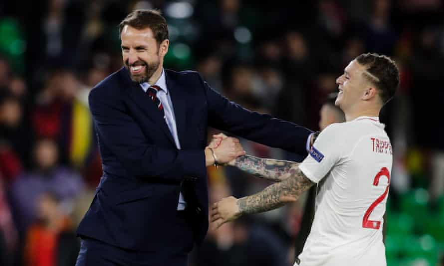 Southgate becomes first England manager not to make substitution in 25 years