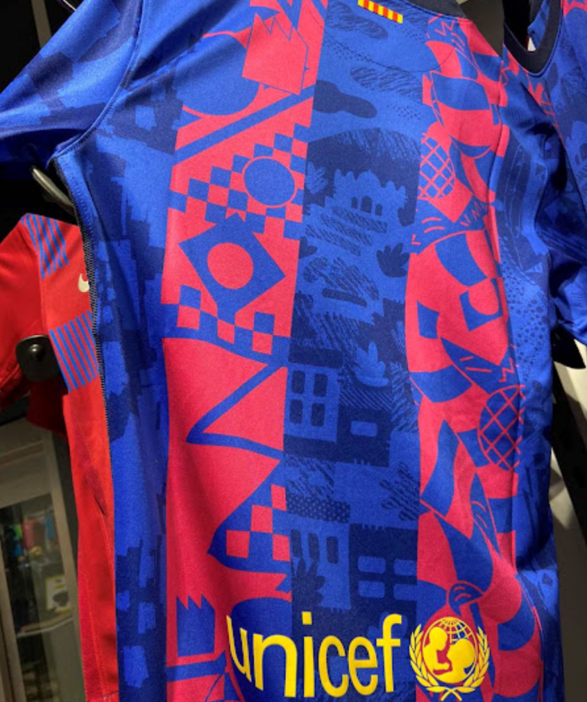 First photos of Barcelona's striking new Champions League kit leaked online