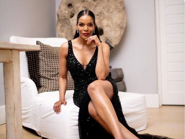 Connie Ferguson receives heart-melting surprise after resuming work