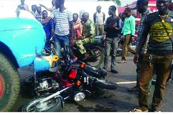 Truck crushes motorcyclist to death in Ondo