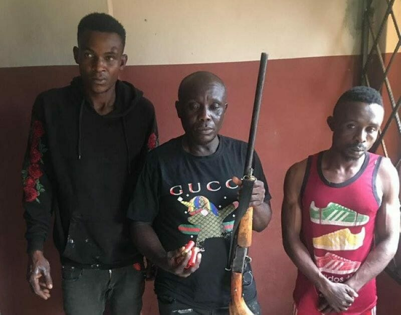 Three suspects remanded in prison over alleged attempt to kidnap family in Edo
