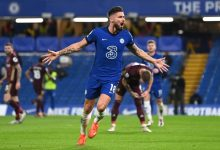 Olivier Giroud a doubt for Liverpool clash after testing positive for Covid-19