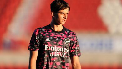 Patino & Hutchinson continue training with Arsenal first-team