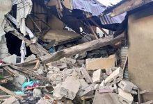 One feared killed, many trapped as building collapses in Ondo (PHOTOS)