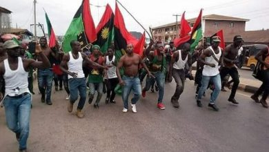 IPOB threatens one-month South East lockdown if FG fails to produce Kanu in court Oct 21