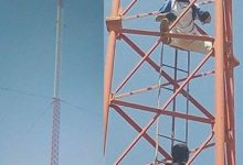 Gombe man climbs telecoms mast, threatens suicide after his fiancée's father rejected his marriage proposal