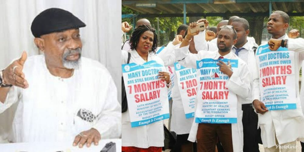 Doctors' strike: No agreement with NARD, FG tells court