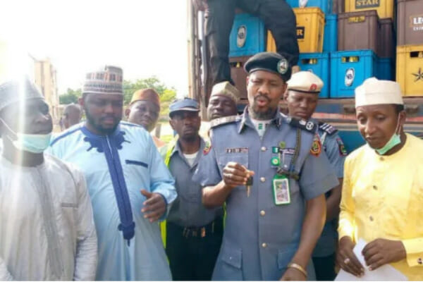 Hisbah confiscates two vehicles loaded with 5,760 cartons of beer in Kano