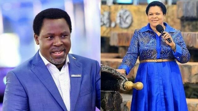Video: TB Joshua's wife reportedly evicts disciples from SCOAN over leadership tussle