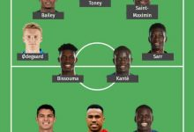 Chelsea and Arsenal duo star in 101 Great Goals Team of the Week