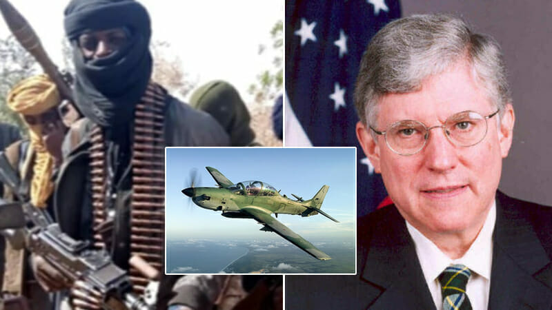 Bandits, terrorists may seize Super Tucano fighter jets from Nigerian military – Ex- US Ambassador, Campbell