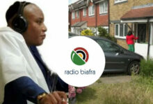 Location of 'Radio Biafra' discovered in London