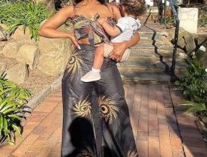 More photos from Pearl Modiadie's son first birthday celebration