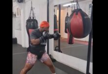 Cassper Nyovest punches hard ahead of boxing match (Video)
