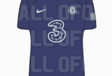 Leaked: Images of Chelsea's predicted home & away jerseys for 2022/23