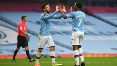 Raheem Sterling vs Noa Lang as Arsenal are linked with pair for January move