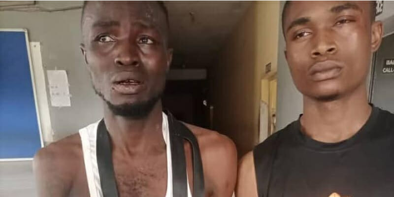 Delta police arrest two suspects, recover gun, wraps of Indian hemp